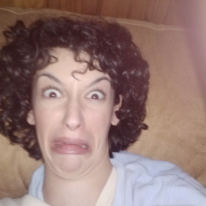 nasty face