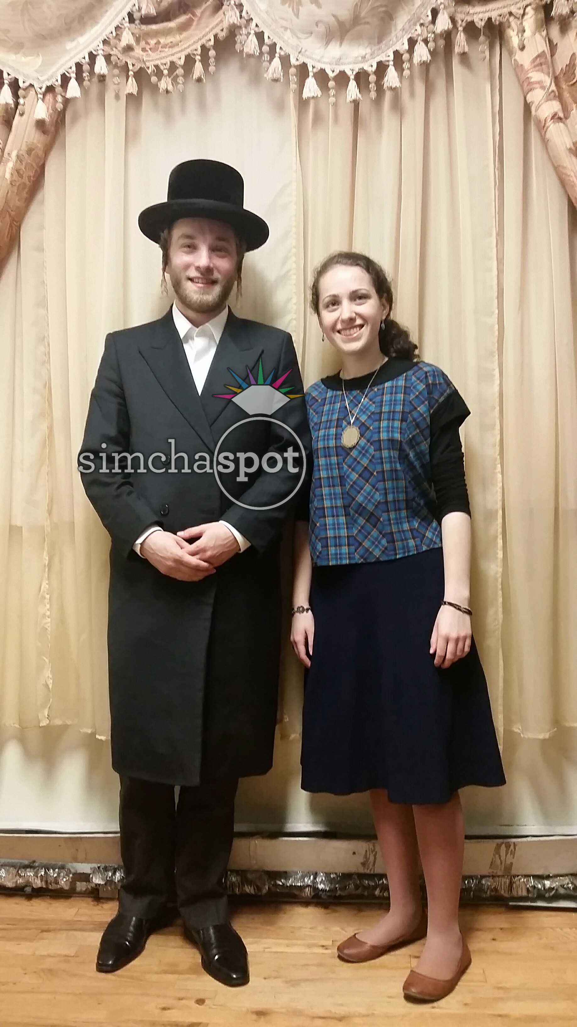 Engagement of Miriam Oliel  Brooklyn  and Shlome Kraus  Manchester