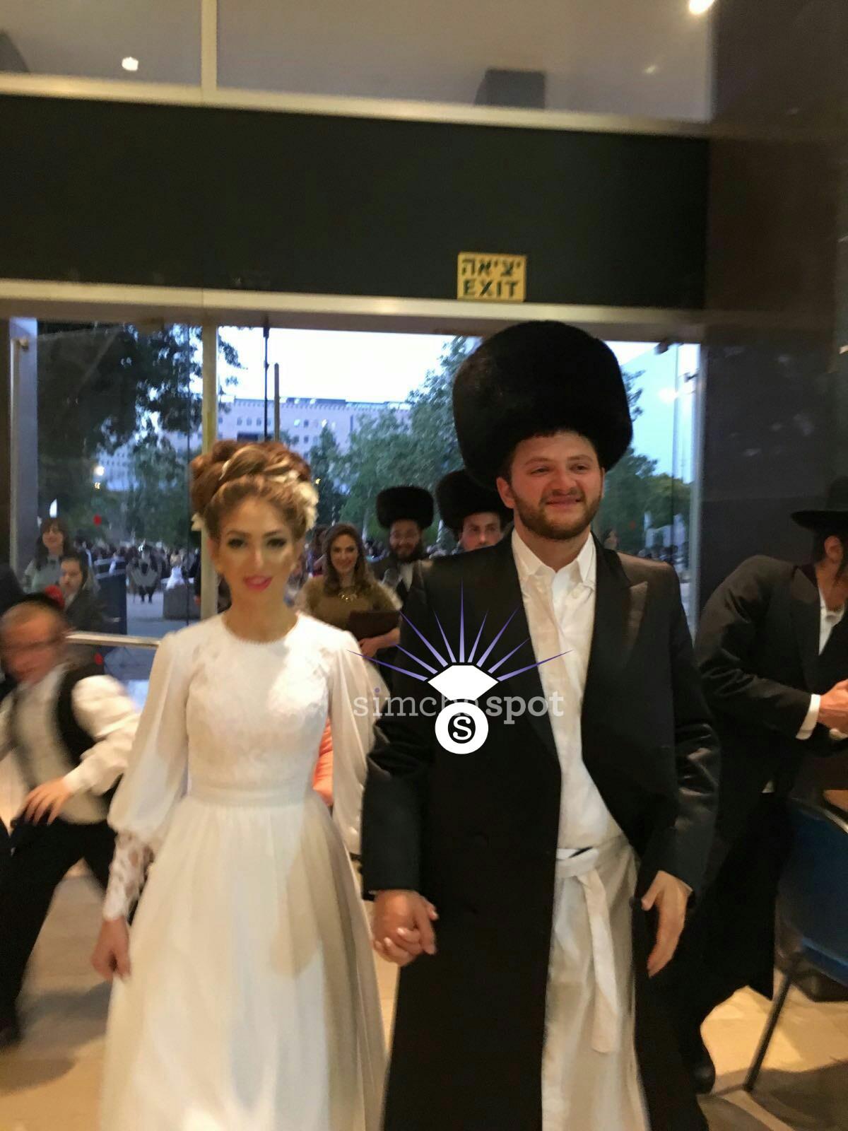 wedding of simcha and adina shreiber israel � simchaspotcom